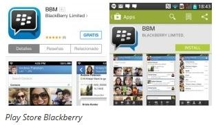 width playstore Blackberry