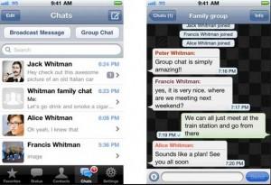 whatsapp conversacion grupo